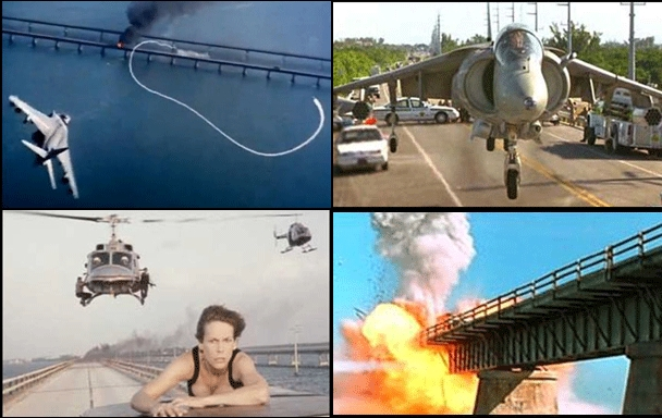 The bridge can be dangerous. Jamie Lee Curtis can attest to this.