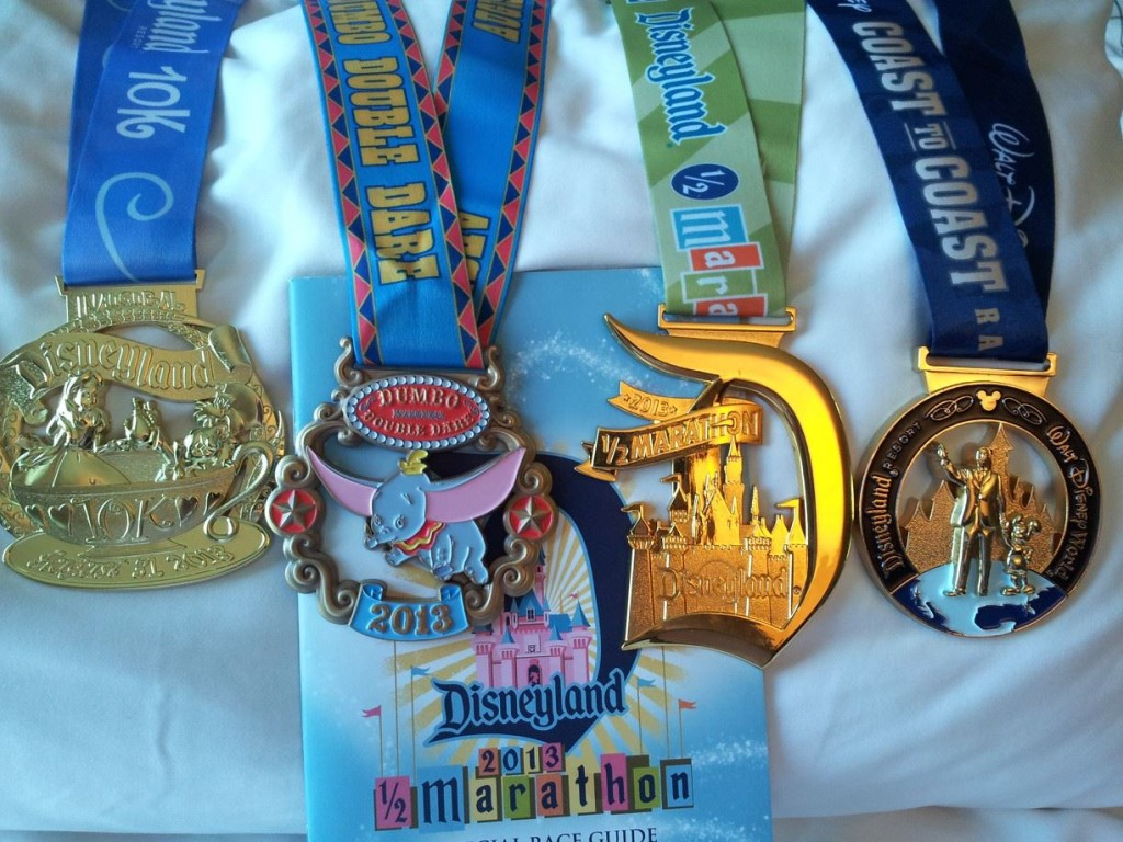 All the race bling, arranged and photographed by Boots!