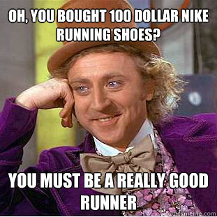 Sauconys, Bill, and $140. Yeah I know...