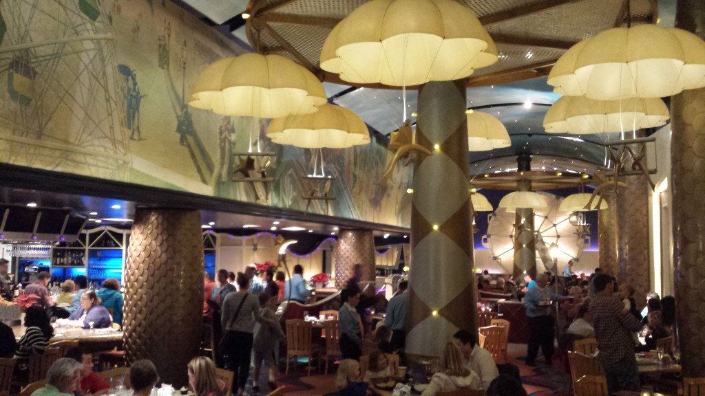 Inside the Flying Fish