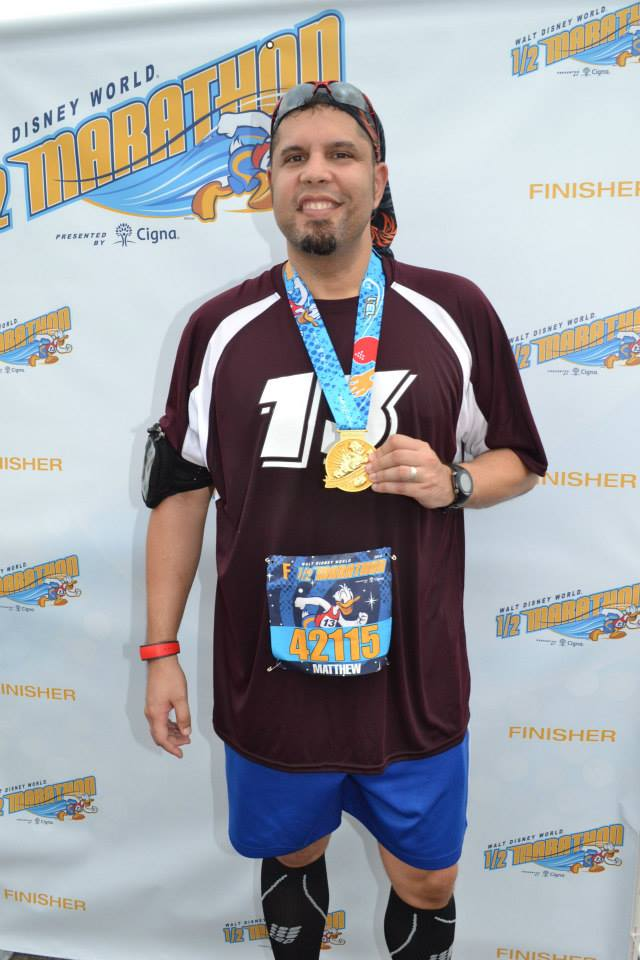 My finisher photo.