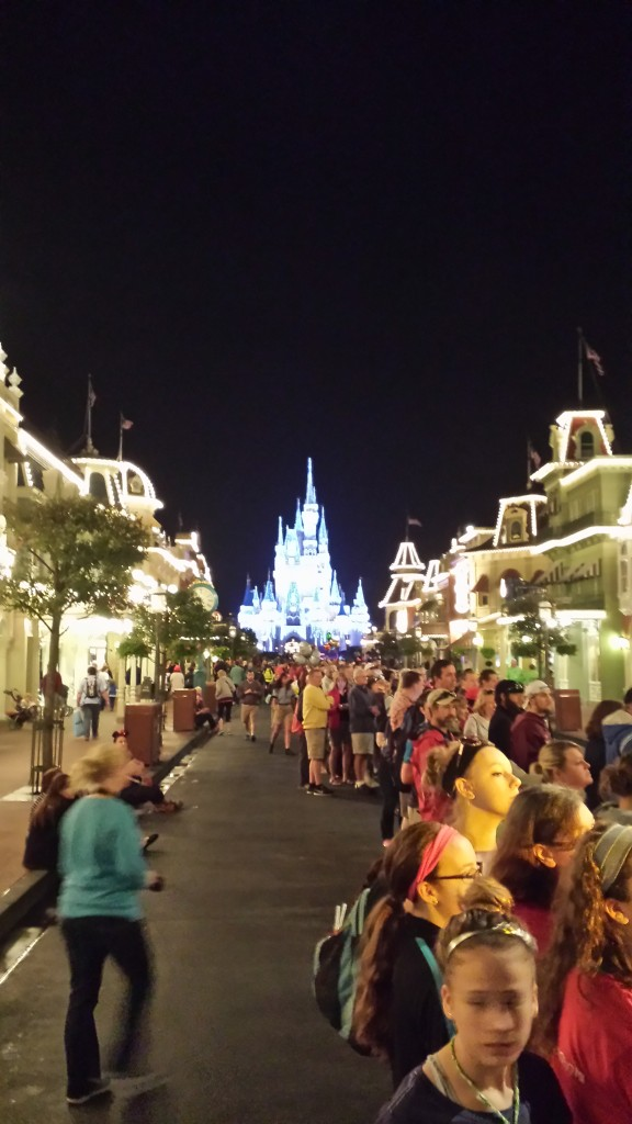 Looking down Main Street towards the Castle