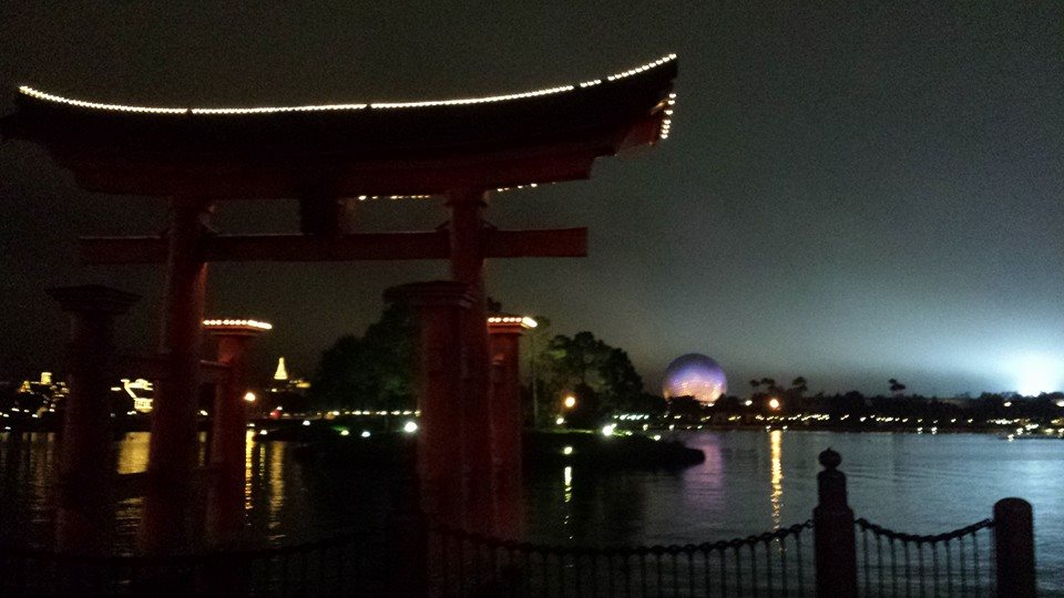 Epcot in the wee hours