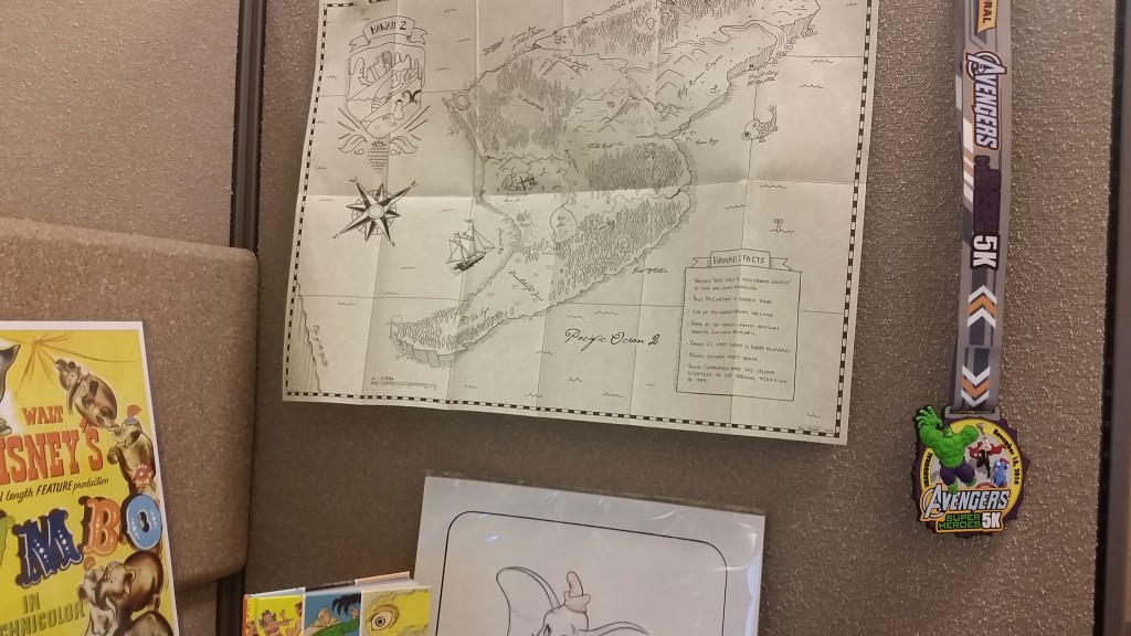 It's right there, over on the right. Next to my map of Hawaii 2, where I am a proud landowner. For real, yo. Really!